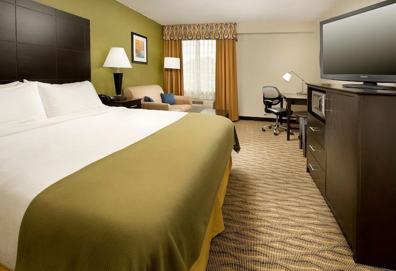 هوليداي إن إكسبريس والدورف, والدورف, غرفة - سرير ملكي - تجهيزات لذوي الاحتياجات الخاصة - لغير المدخنين (Roll-In Shower), غرفة نزلاء