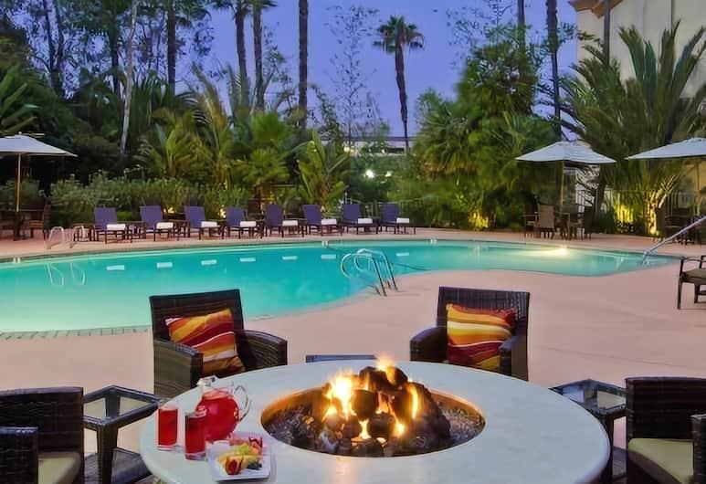 DoubleTree by Hilton San Diego - Hotel Circle, Sandjego, Terase/iekšējais pagalms