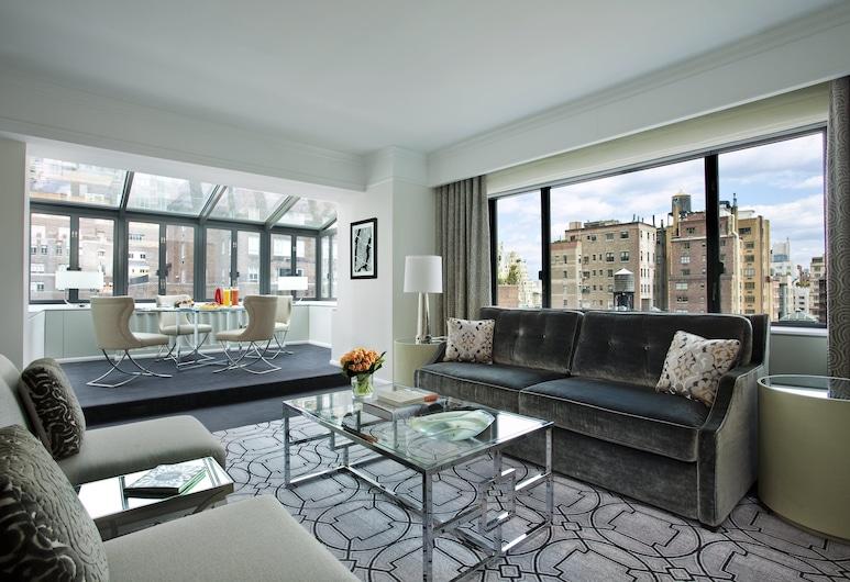Loews Regency New York Hotel, New York, Suite (Atrium Suite), Gjesterom