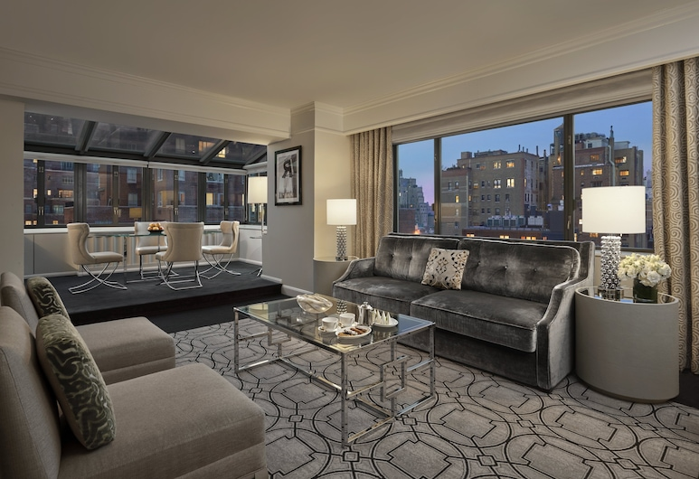Loews Regency New York Hotel, New York, Suite (Atrium Suite), Guest Room View