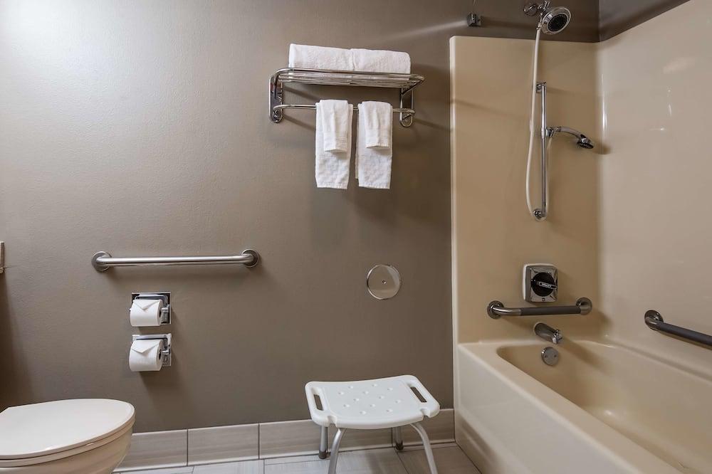 標準客房, 1 張特大雙人床, 無障礙, 浴缸 - 浴室