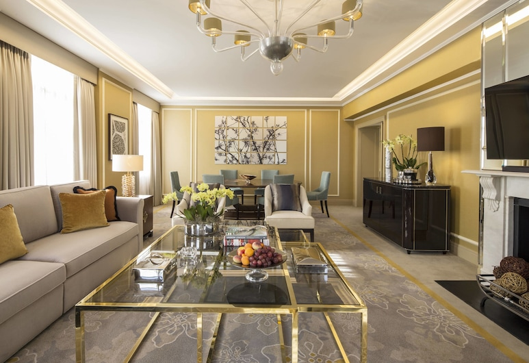 JW Marriott Grosvenor House London, London, Royal-Suite, 1 Schlafzimmer (Larger Suite, Executive Lounge Access), Zimmer