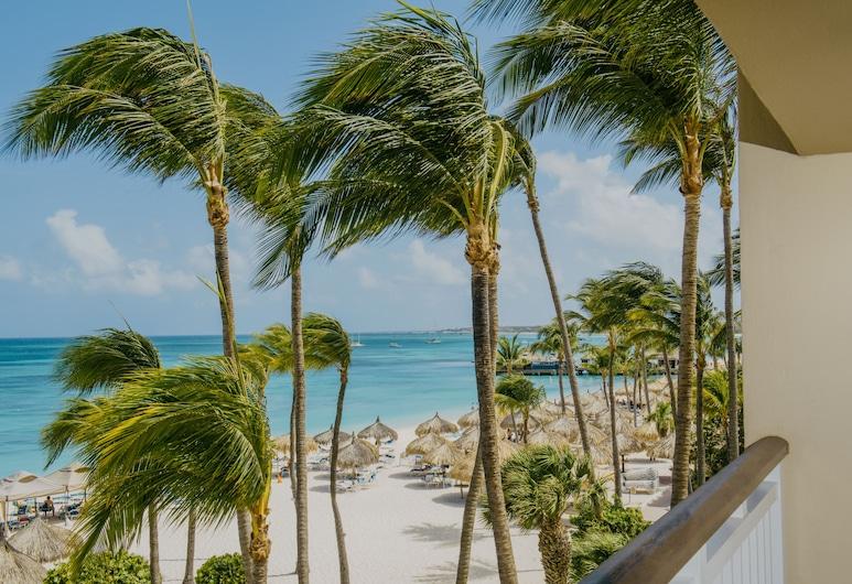 Hyatt Regency Aruba Resort and Casino, Norda, Standarta numurs, 1 divguļamā karaļa gulta, balkons, pretī okeānam, Viesu numurs