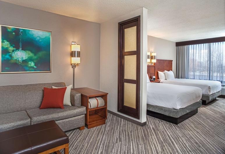 Hyatt Place Cincinnati/Blue Ash, Cincinnati, Guest Room, Room, 2 Double Beds, Guest Room