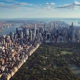Városi kilátás a szállásról