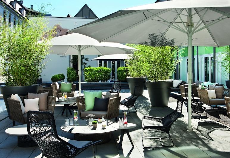 Drei Mohren Hotel, Augsburg, Terrace/Patio