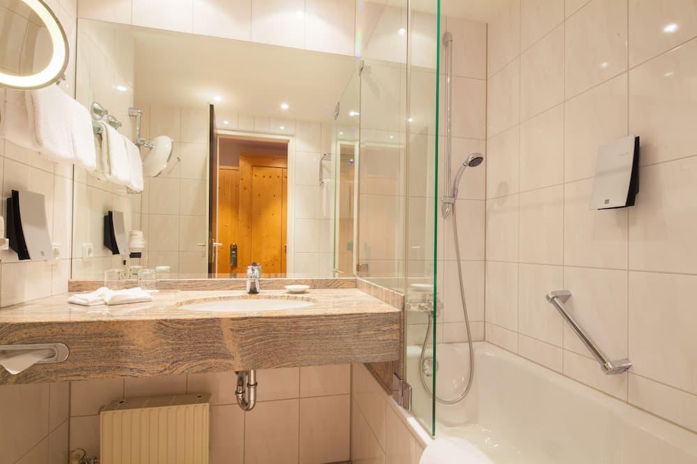 Classic-Einzelzimmer, 1 Doppelbett - Badezimmer