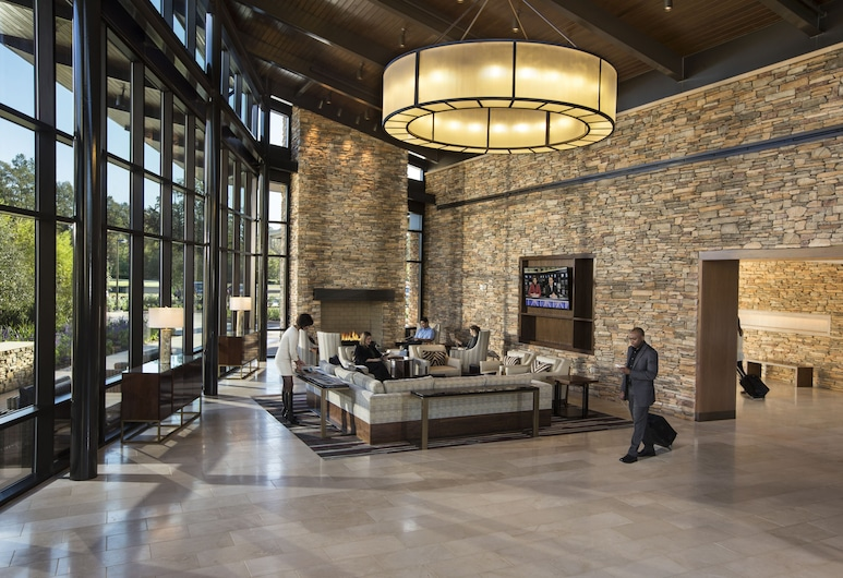 The Woodlands Resort, The Woodlands, Hotel lounge