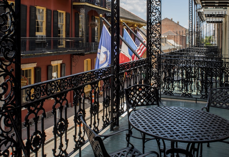 Hotel St. Marie, New Orleans, Rom, 2 queensize-senger, balkong, utsikt mot byen, Gjesterom