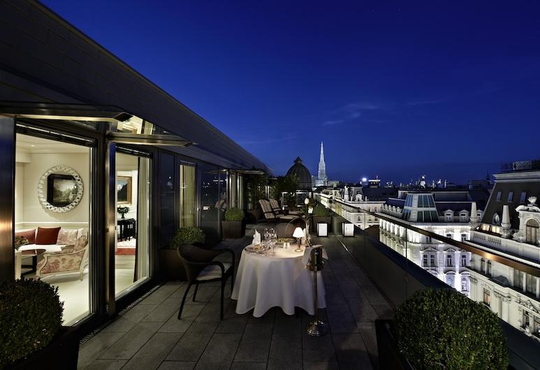 Hotel Sacher Wien, Vienna, Grand Suite, Terrace/Patio