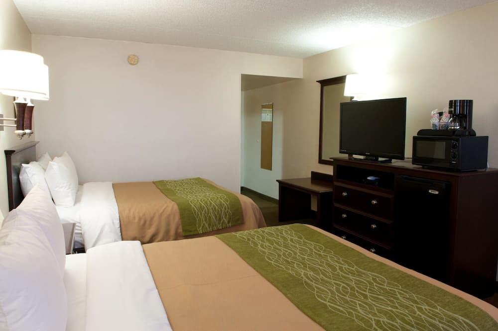 標準客房, 2 張加大雙人床, 非吸煙房 - 客房