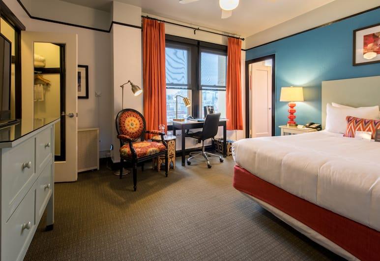 Hotel Carlton, a Joie de Vivre Boutique Hotel, סן פרנסיסקו, חדר סופריור, מיטת קינג, חדר אורחים