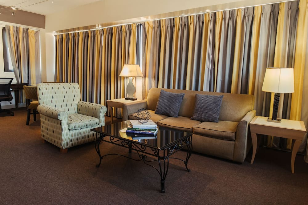 Double Royal Suite, Kitchen - Wohnbereich