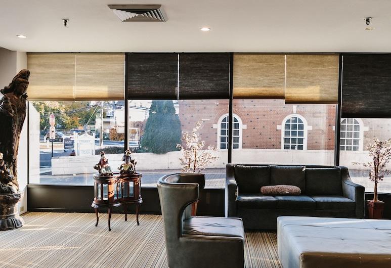 Stamford Suites, Стэмфорд, Гостиная в вестибюле