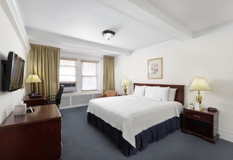Salisbury Hotel, Nova Iorque, Suite, 1 cama king-size, Quarto