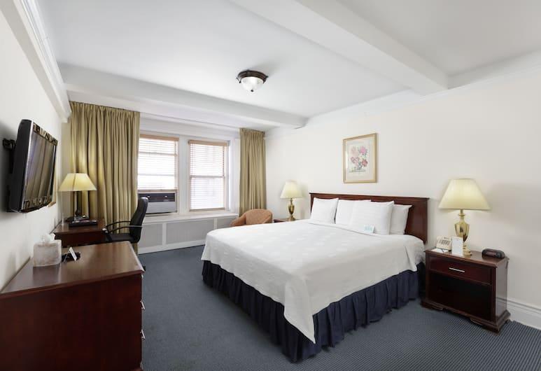 Salisbury Hotel, Niujorkas, Numeris, 1 labai didelė dvigulė lova, Svečių kambarys