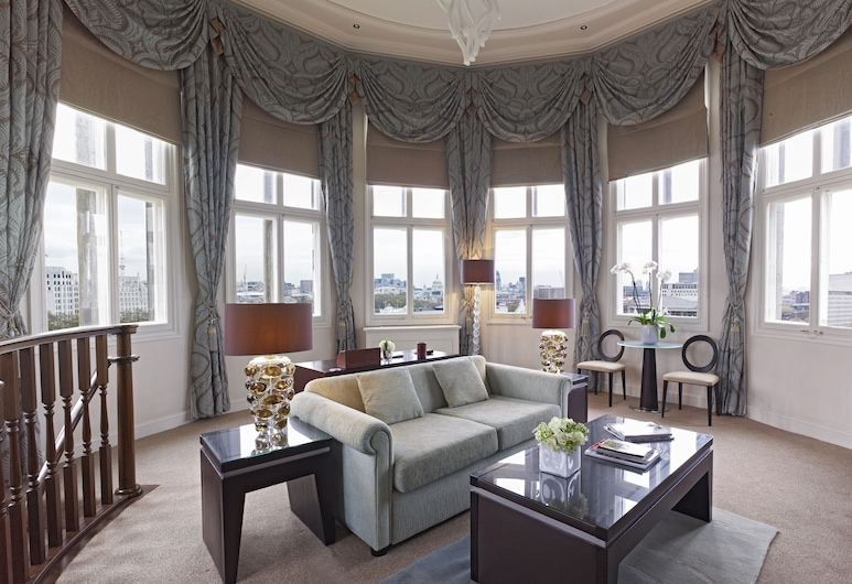The Royal Horseguards, London, Suite, River View, Living Room
