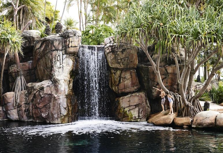 JW Marriott Gold Coast Resort & Spa, Surfers Paradise, Piscina con cascada