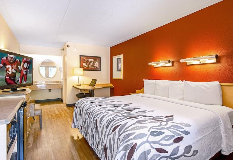 Red Roof Inn Jacksonville - Orange Park, Jacksonville, Quarto Superior, 1 cama king-size, Não-fumadores, Quarto