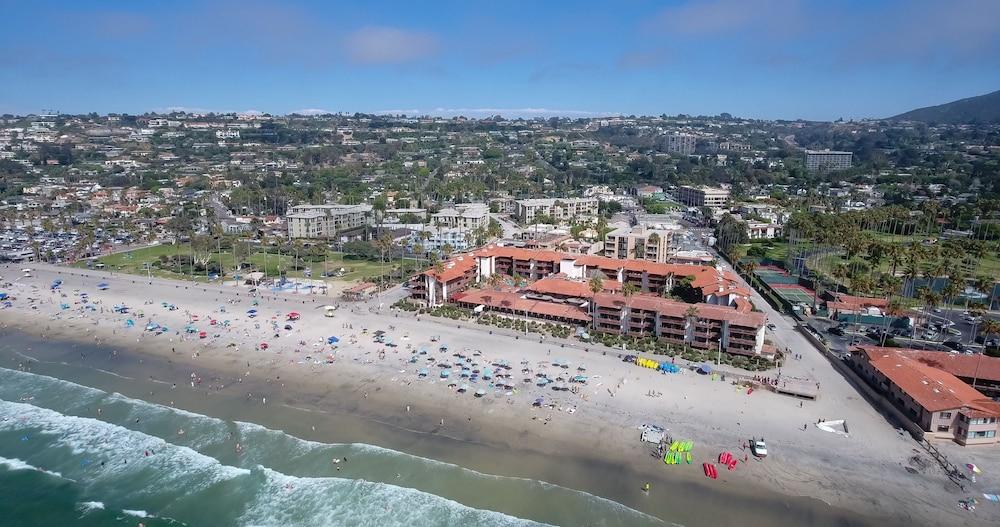 La Jolla Ss Hotel Aerial View