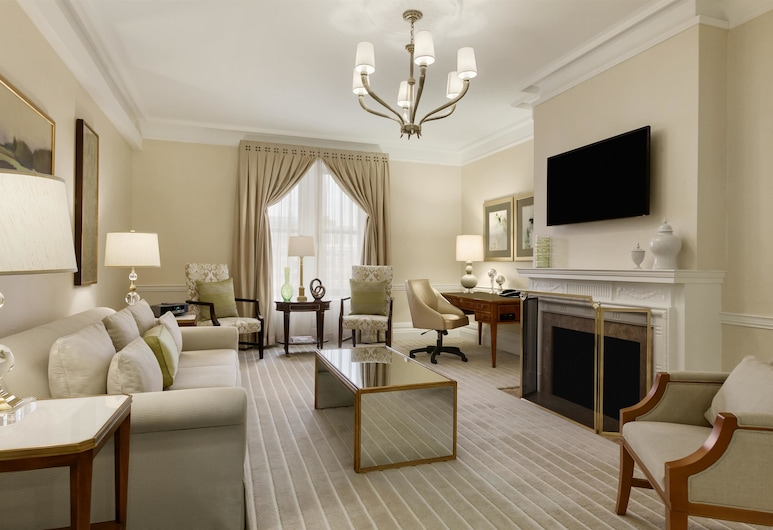 Fairmont Copley Plaza, Boston, Boston, Presidential Suite, 1 King Bed, Non Smoking, Park View, Guest Room