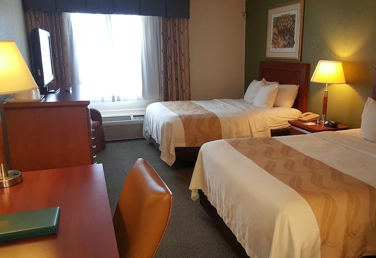 Quality Inn & Suites Conference Center, West Chester, Standard szoba, 2 kétszemélyes ágy, nemdohányzó, Vendégszoba