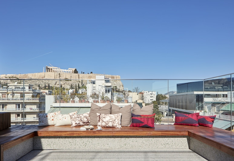 Philippos Hotel, אתונה, מרפסת/פטיו