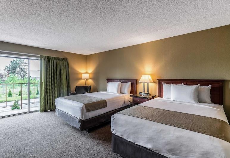 Rodeway Inn & Suites Portland - Jantzen Beach, Portland, Chambre Standard, 2 grands lits, non-fumeurs, Chambre