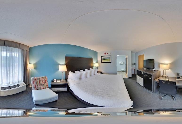 Clarion Inn, Cleveland, Quarto, 1 cama king-size, Acessível, Não-fumadores, Quarto
