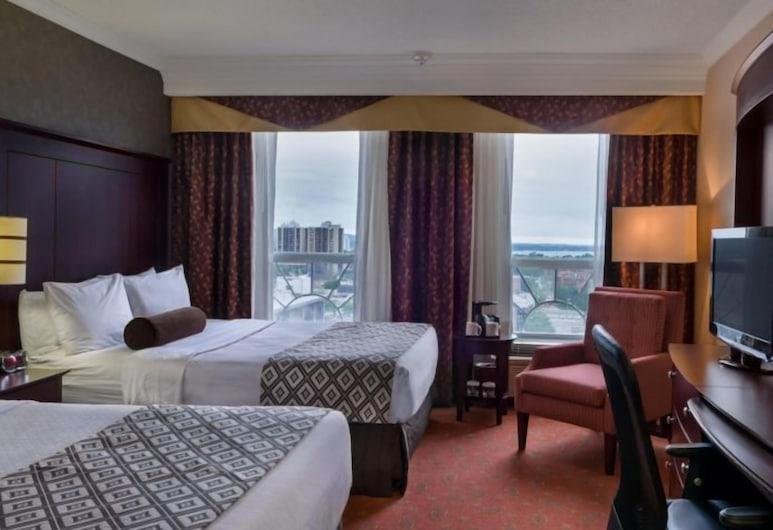 ハミルトン プラザ ホテル & カンファレンス センター, ハミルトン, スタンダード ルーム クイーンベッド 2 台, 部屋