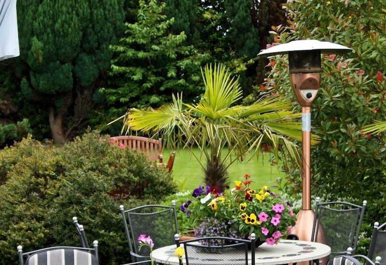 Aberdeen Lodge, Dublin, Speisen im Freien