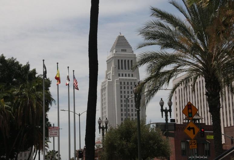 Metro Plaza Hotel, Los Angeles, Výhľad z hotela