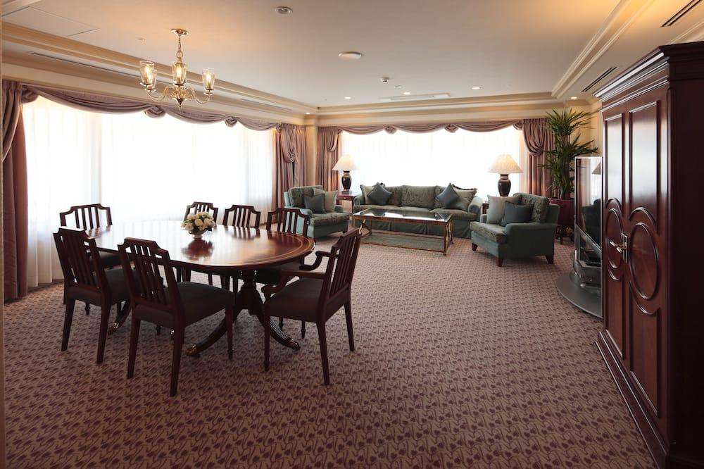 套房, 吸煙房 (Twin Room, Princess, High Floor) - 客廳
