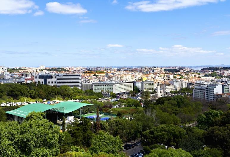 SANA Rex Hotel, Lisbon, View from Hotel