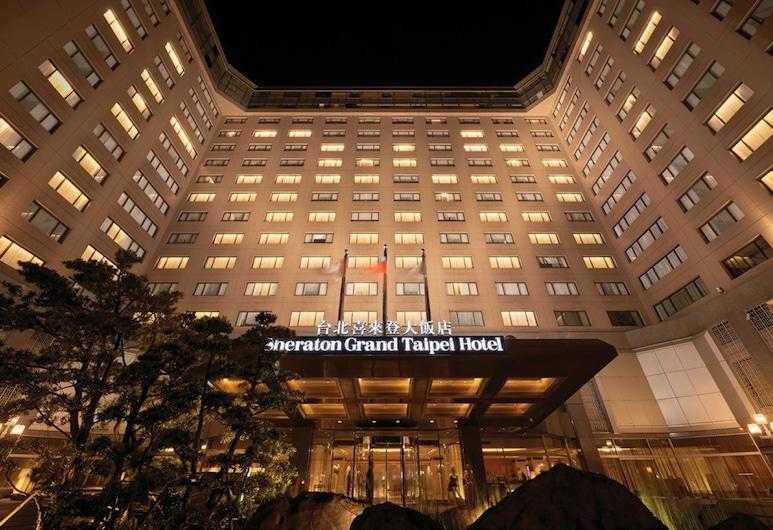 Sheraton Grand Taipei Hotel, Taipei, Hotel Front – Evening/Night