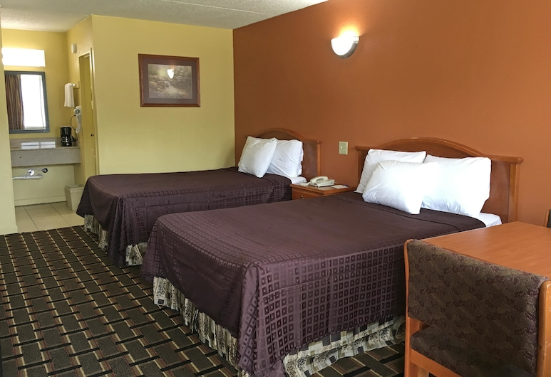 Americas Best Value Inn & Suites Greenville, Greenville, Room, 2 Double Beds, Non Smoking, Guest Room