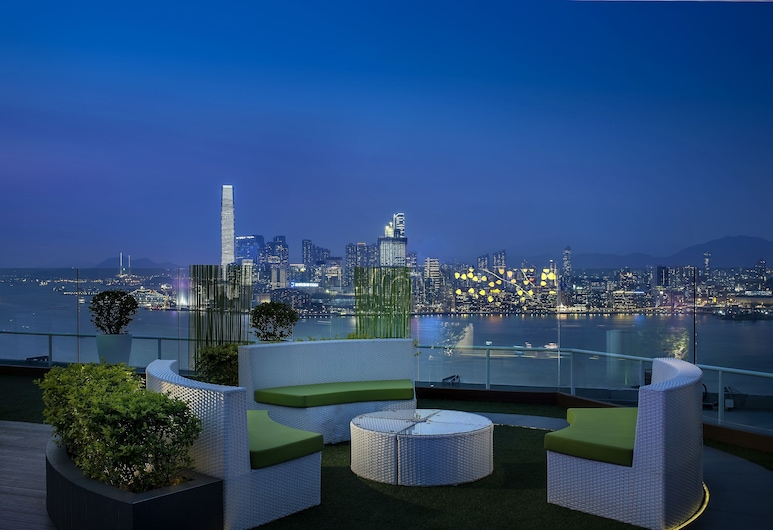The Park Lane Hong Kong, a Pullman Hotel, Hong Kong, Terrace/Patio