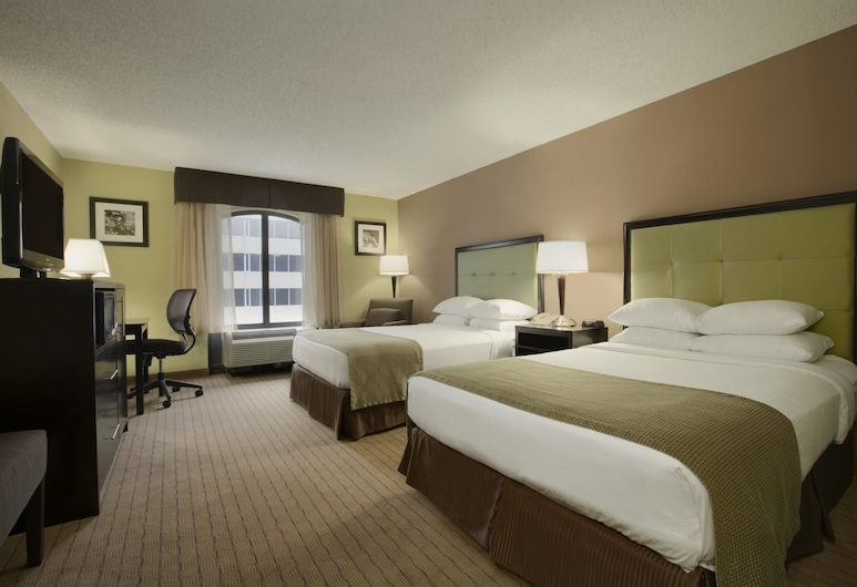 Days Inn by Wyndham Baltimore Inner Harbor, Baltimore, Room, 2 Double Beds, Non Smoking, Refrigerator, Guest Room