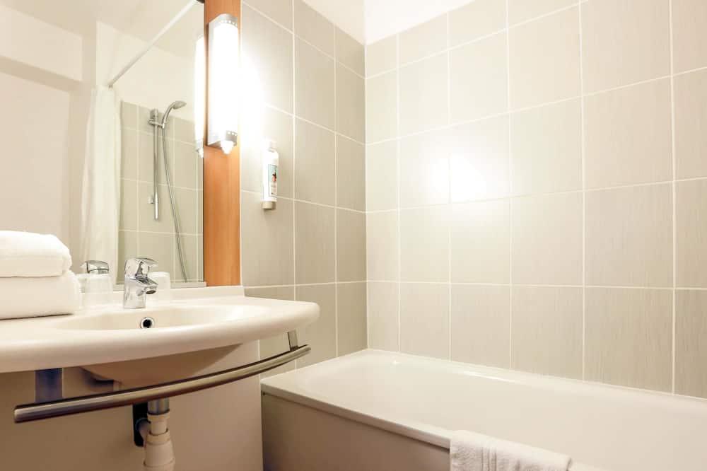 Standardværelse med 2 enkeltsenge - 2 enkeltsenge - Badeværelse