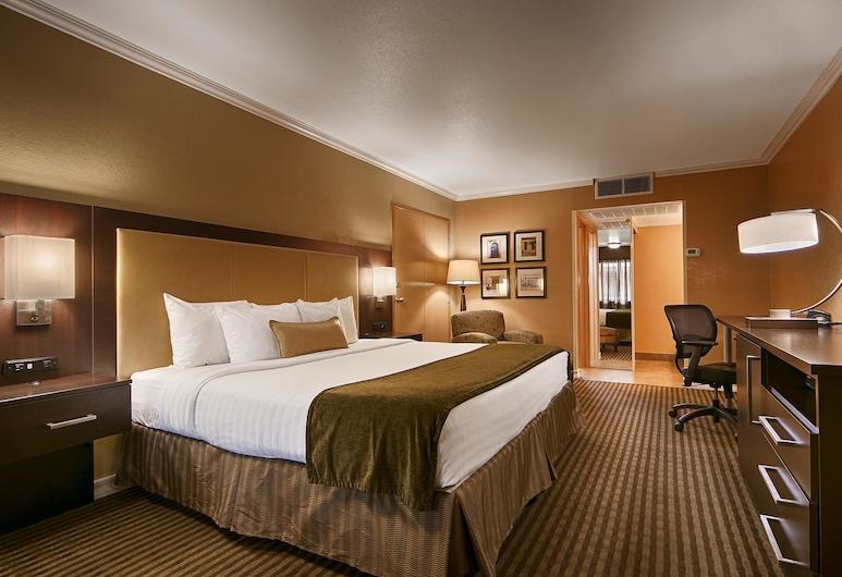 Best Western Royal Sun Inn & Suites, Tucson, Deluxe Room, 1 King Bed, Guest Room