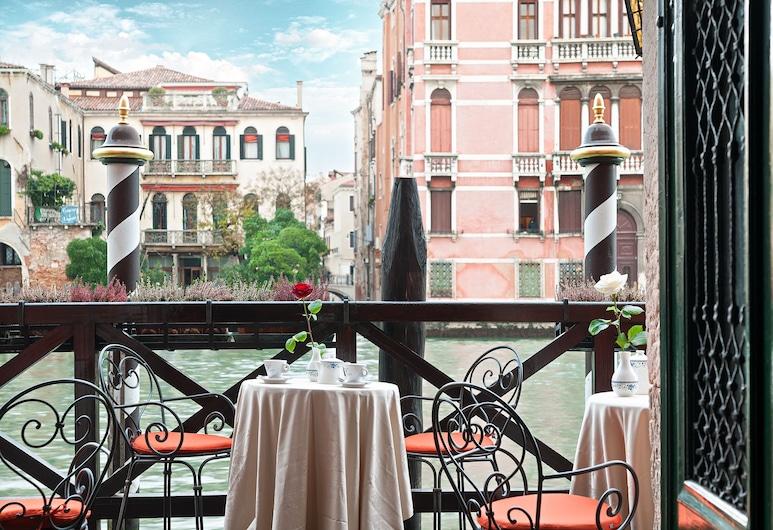 Hotel San Cassiano Ca'Favretto, Benátky, Terasa