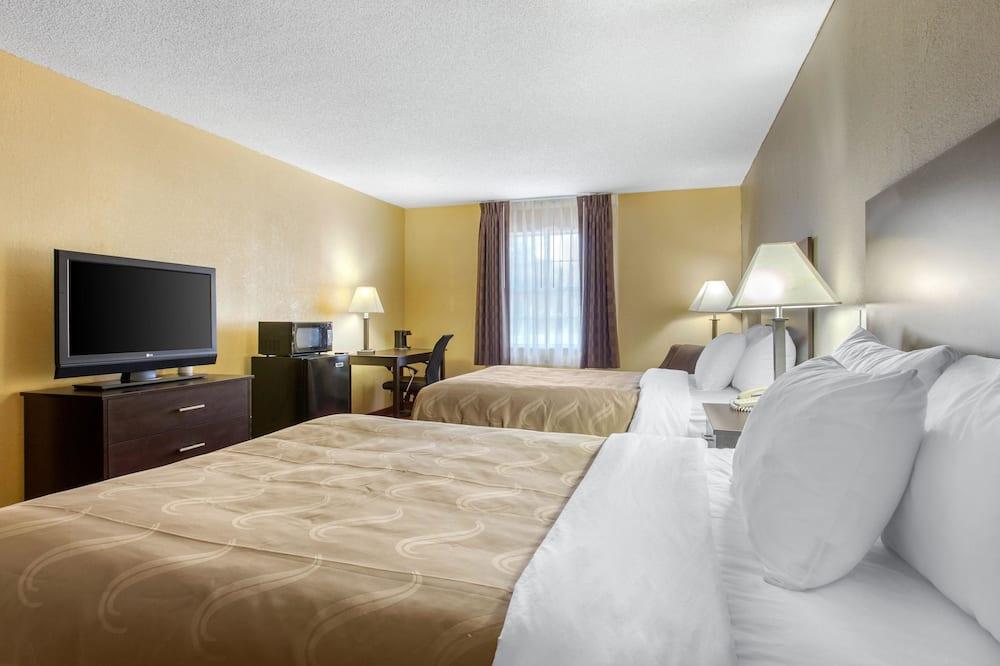 Standaard tweepersoonskamer, 2 tweepersoonsbedden, niet-roken - Kamer