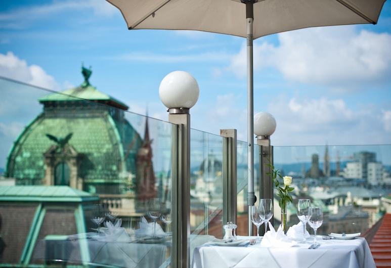 Hotel Royal, Viyana, Çatı katında teras