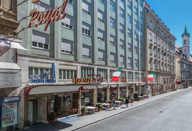 Hotel Royal, Wien, Hotelfassade