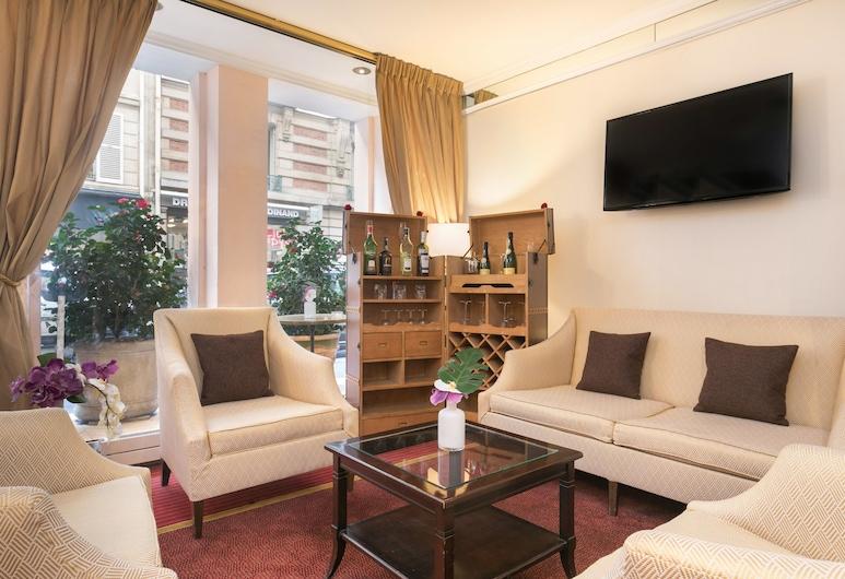 快樂文化星聖弗迪納酒店, Paris, 大堂閒坐區