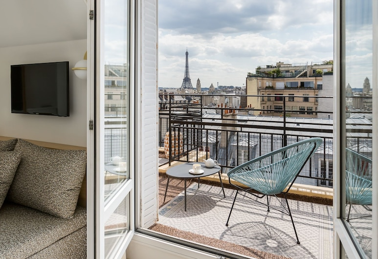 Atala Champs Elysées, Paris, Suite, Kamar Tamu