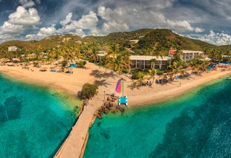 Bolongo Bay Beach Resort, St. Thomas, Вигляд з висоти пташиного польоту