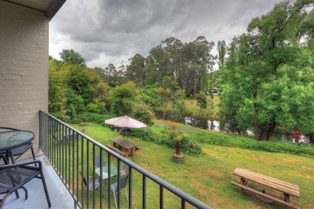 Kambarys, vaizdas į upę - Vaizdas iš balkono