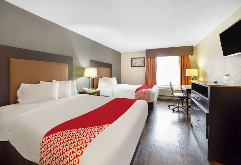 OYO Hotel Columbia SC Northeast, Columbia, Rom, 2 dobbeltsenger, Gjesterom