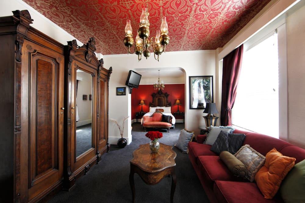 Luksusa numurs, 1 divguļamā karaļa gulta - Dzīvojamā istaba